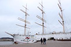 Viking am Hafen