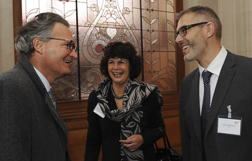 Robert-Jan Smits, Niklas Blomberg and Jeannette Ridder-Numan