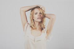Lena (Sebastian Toth) Tags: woman cute girl face contrast canon hair studio lens model soft skin low 14 lips pale sensual lena faded blonde mk2 5d shooting desaturated emotional ef emotive petite 5014 5dmkii 5dmk2
