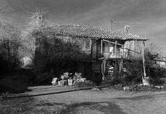 farmerhouse (wolfgangfoto) Tags: blackandwhite bw house farmer belek wolfgangfoto vision:mountain=0528 vision:outdoor=0886 vision:sky=0522