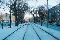 Beacon Street Rails (Kirk Lorenzo) Tags: street winter snow cold boston train ma frozen place massachusetts january places system trainstation rails snowing mbta blizzard stmary snowcovered beaconstreet stmaryst massachusettsbaytransitauthority kirklorenzo