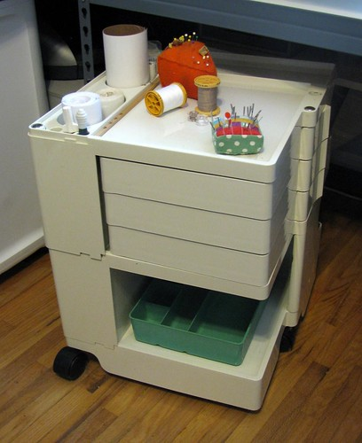 Boby taboret for sewing supplies