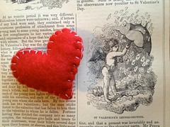 St Valentine's Letter-Shower (jillyjally) Tags: red shower day heart letters letter valentines bookofdays