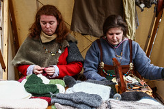 Jorvik Viking Festival 2014 - Coppergate (6) (nican45) Tags: york camp slr festival canon costume clothing market sewing yorkshire sigma clothes february feb dslr viking 1770 jorvik 2014 600d coppergate 1770mm eos600d 1770mmf284dcmacro
