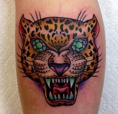 (Sheila Marcello) Tags: tattoo cat newjersey tiger traditional tattoos diamond leopard emerald electriclotus sheilamarcello