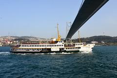 Bosphorus Cruise Boat (RobW_) Tags: bridge cruise turkey boat sunday istanbul april bosphorus 2014 apr2014 06apr2014