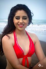 Andrea XV aos (Ever Candiani Fotgrafo) Tags: sexy azul mar nice rojo fiesta playa colores modelo bikini xv brincos calor aos sesin celebrar xvaos