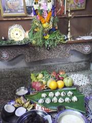 20140829_134624 (bhagwathi hariharan) Tags: ganpati ganpathi lordganesha god nallasopara nalasopara pooja idols