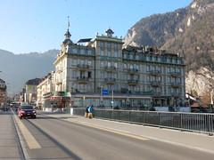 Interlaken... Hotel Central (deltrems) Tags: interlaken switzerland swiss berner bernese oberland building hotel central continental