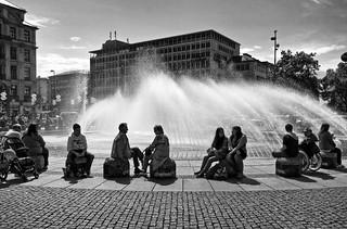 Stachus Fountain