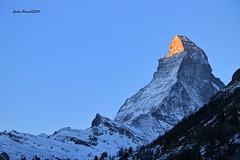 The sun rising in Matterhorn - Zermatt (cpscoa) Tags: matterhorn alps zermatt