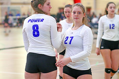IMG_3181 (SJH Foto) Tags: girls volleyball teen teenager team ecp chrome east coast power u17s substitution sub rotation