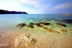 Per incanto e per amore (Daniele Torreggiani) Tags: portonovo riviera conero marche ancona spiaggia beach mare sea