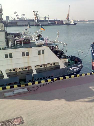 Odessa marine station, ship