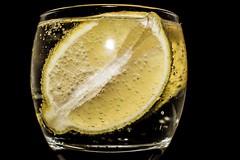 Still life photography (dragonfly7575) Tags: macro glass fizzy zest fruit lemon yellow stilllifephotography