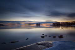 Serene (Jyrki Salmi) Tags: jyrki salmi mussalo kotka finland night evening le longexposure clouds outdoor serene winter spring