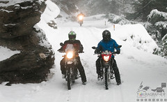 2's Company, 3's fest! (touragrapher) Tags: canon70d dharali harshil heroimpulse himalayas himalyan mountains offroader royalenfield sigma30mm snow snowstorm2017 snowstorm uttarkhashi uttrakhand uttrakhandtourism whereeaglesdare yamahawr450f thehills tourer