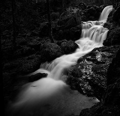 Serva Alsace (Bruno MATHIOT) Tags: monochrome mono alsace pose longue long exposure bw noiretblanc nb black blanc outdoor randonnée waterfall eau water nd1000 sigma 1020 760d canon french france