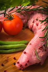 Pork Tenderloin (Priyanka Deori) Tags: assortment cooking eating healthyeating ingredients kitchen meal meat pork red steak taste tenderloin texture food
