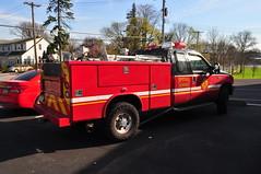 LaMott Fire Company Special Service 2 (Triborough) Tags: pa pennsylvania montgomerycounty springfield lfc lamontfirecompany firetruck fireengine specialervice specialervice2 ford fseries f250