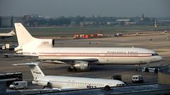 L-1011 | G-CEAP | LGW | 19960828 (Wally.H) Tags: l1011 lockheed tristar gceap internationalairways lgw egkk london gatwick airport