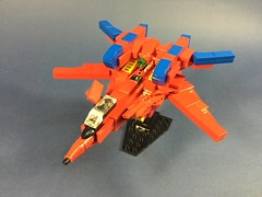 VF-19 Basara Special (ZiO Chao) Tags: lego macross macross7 moc afol zio ziocreation valkyrie vf19 basara fighter aircraft space