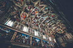 sistine chapel (markmartucciphoto) Tags: italy markmartucciphotography travel photography sistine chapel balogna assisi