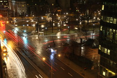 Nighttime view from a room, Montreal Quebec (internat) Tags: 2017 canada quebec montreal qc sheraton room827 night nightshot