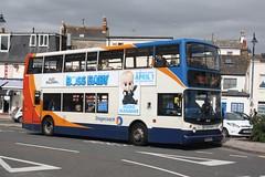 18301 - Stagecoach South West - WA05MGU (lazy south's travels) Tags: teignmouth south devon england britain uk bus low floor double deck decker dennis trident alexander stagecoach wa05mgu
