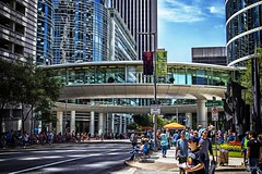 Circular walkway IMG_5604-1 (matwith1Tphotography) Tags: matwith1t canon eos70d 70d 24105mm downtownhouston chevronbuilding outdoors artcarparade sunnyday