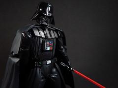 Darth Vader (Matheus RFM) Tags: starwars darthvader revoltech kaiyodo