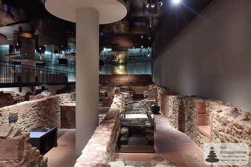 Alte Kellergewölbe der Judengasse in Frankfurt