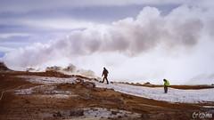 Hverir (Crisbina) Tags: islanda reykjavík snow sea ocean neve ghiaccio ice panorama landscape natura nature fire fuoco acqua terra aria