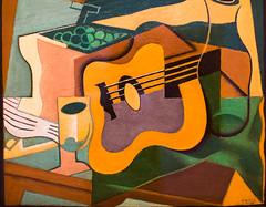 Still Life with Guitar (Thomas Hawk) Tags: america forestpark juangris missouri mo museum saintlouisartmuseum stlouis stilllifewithguitar usa unitedstates unitedstatesofamerica artmuseum guitar painting fav10