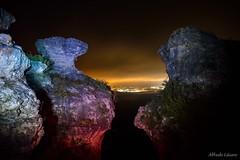 El cántaro viste de Prada (allabar8769) Tags: aguilardecampoo lastuerces luces montaña montreal nocturna paisaje