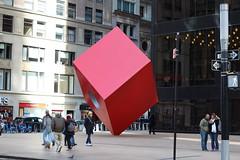 Red Cube (shinya) Tags: isamunoguchi