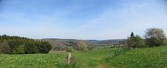IMG_4600_4601 (Bike and hiker) Tags: ourthe aisne printemps lente