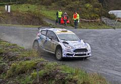 Ford Fiesta - car 1 (stu cook) Tags: rallynorthwales2017 pentaxk5 tamron 70200mmf28 ss25bigray