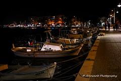 Boats 14 (`ARroWCoLT) Tags: nx300 30mm f2 nightscene seascape boats gece lowlight streetphotography sokak ayvalik turkey türkiye turkei seaside tekne kayık kayıklar iskele kordonboyu