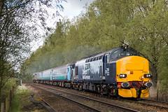 37423 / 37403 - Bungalow Lane - 2P18 (Class313) Tags: aga greater anglia direct rail services drs class 37 37423 37403 2p18 short set