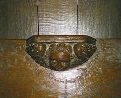 Radley, St James the Great - Choir Stalls (Glass Angel) Tags: radley stjamesthegreat misericords oxfordshire church choirstalls woodcarving