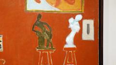 Matisse, The Red Studio (detail)