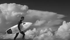 C Street Surfer (photoev) Tags: surfer surfing california ventura surfers point shortboard surfboard clouds sport wetsuit ocean