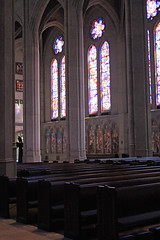 Empty Pews (JB by the Sea) Tags: sanfrancisco california april2017 urban nobhill gracecathedral church gothic frenchgothic