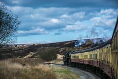 Pickering to Grosmont return (Antony Fleming) Tags: 76079 engine steam pickering goathland grosmont newtondale levisham nymr railway antonyfleming