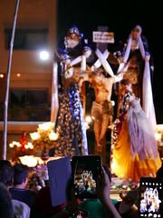gadgets at the procession (DOLCEVITALUX) Tags: gadgets tablets mirrorlesscameras digitalcameras slr singlelensreflex digitalslr nikon canon panasonic pansasoniclumixlx100 canonpowershotsx50hs olympus fuji cameras philippines procession people devotees church dusk night cellphonecameras phonecameras samsung lg apple huawei vivo iphone