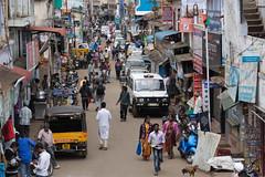 Street in Ooty (JohnMawer) Tags: tamil nadu udhagamandalam ooty india hillstation tamilnadu in street road city town