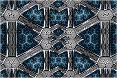 Hyperdrive (Ross Hilbert) Tags: fractalsciencekit fractalgenerator fractalsoftware fractalapplication fractalart algorithmicart generativeart computerart mathart digitalart abstractart fractal chaos art mandelbrotset juliaset mandelbrot julia orbittrap metal sculpture spiral copper brass steel