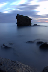 Charley's Sky (craigdwilkinson) Tags: charleysgarden seatonsluice collywellbay northumberland seascape seastack rockstack le longexposure