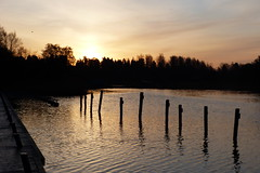 Beautiful Sunday morning (evisdotter) Tags: sunrise morning light water reflections sun sunny nature sooc gottbysund jomala åland